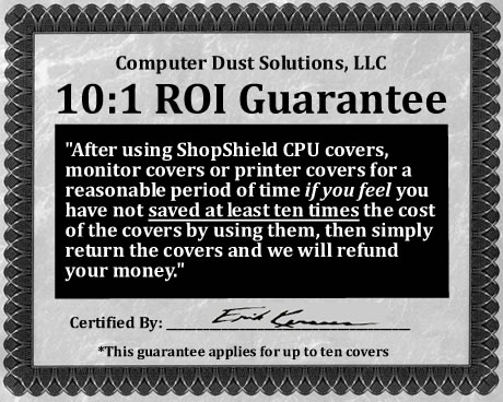 ShopShield™ Computer Dust Covers and Filters—Protect Your